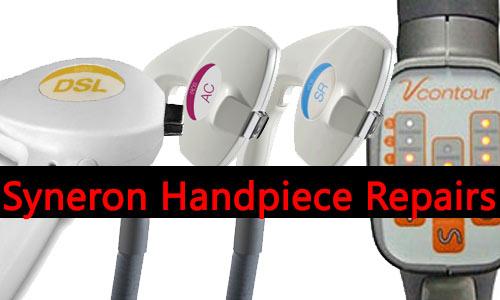 syneron handpiece repairs